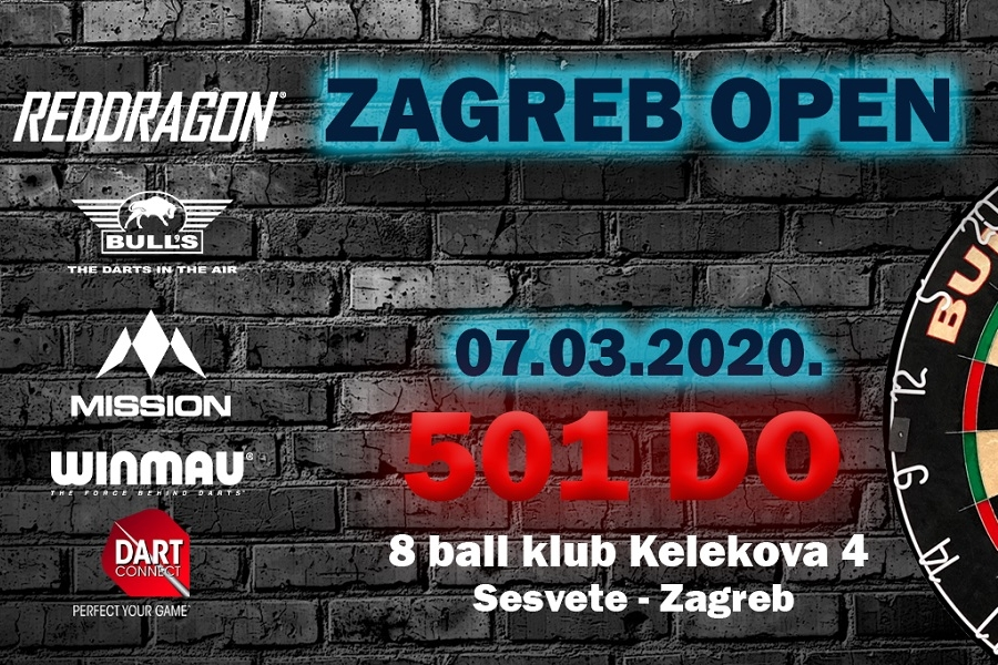 Darts point ZAGREB OPEN 2020