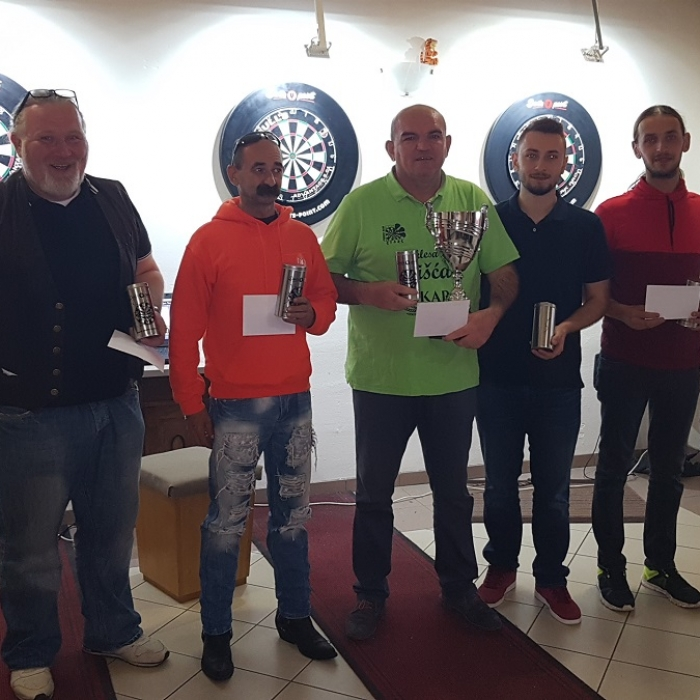 Završila je Darts point liga za sezonu 2017/2018