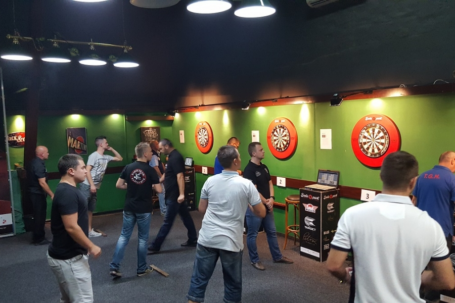 Darts point steel dart league