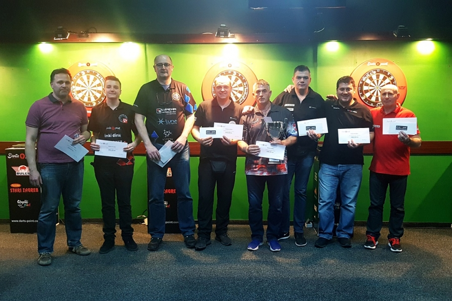 Darts point steel dart league Zagreb