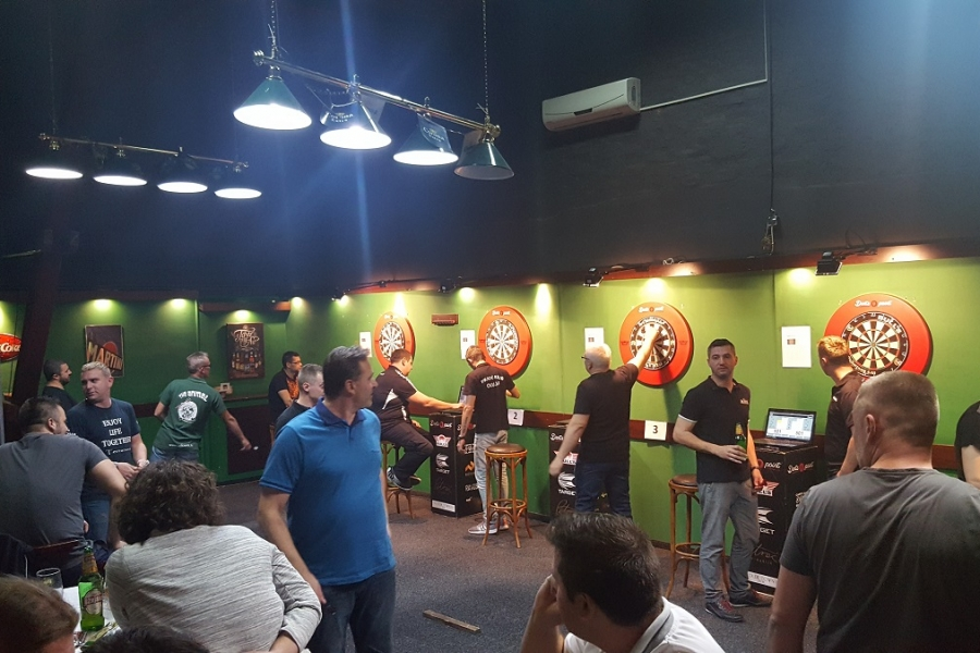 Darts point steel dart liga Zagreb skupina B